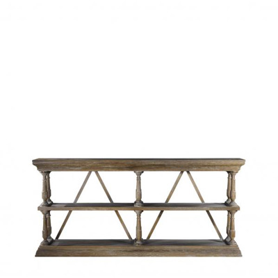 Curations Limited Natural Cross Console