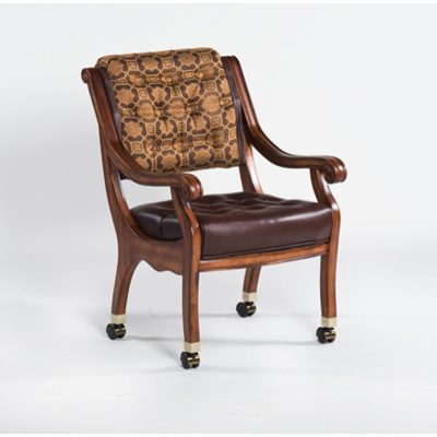 Darafeev Ponce De Leon Club Chair with casters