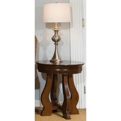 Durham Louis Phillipe Round Lamp Table