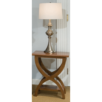 Durham Transitional Chairside Table