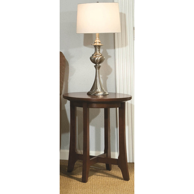 Durham Westwood Round Lamp Table