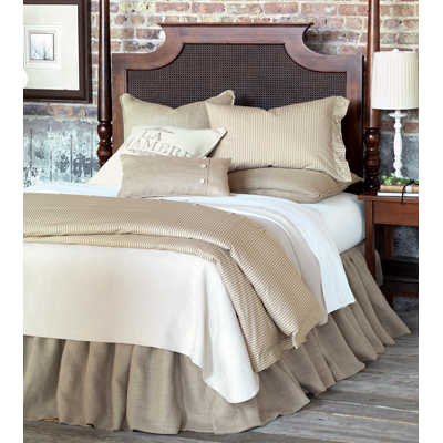 eastern accents bedding sets rustique burlap bedding set