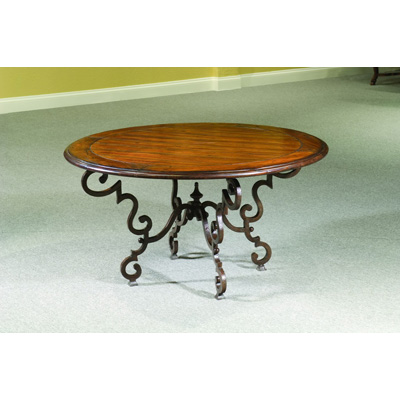 Eastern Legends Round Coffee Table