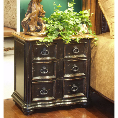 Eastern legends 55081 aspen road side chair discount furniture at hickory park furniture galleries for Eastern legends bedroom furniture