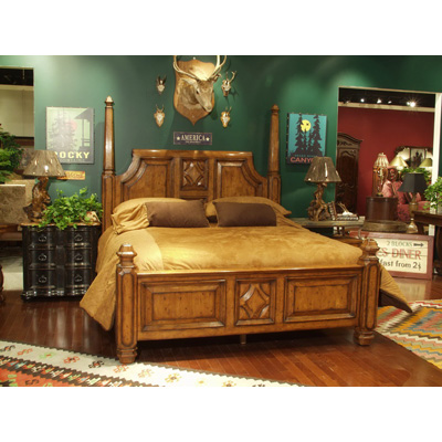Eastern Legends 55111 Aspen Road Eastern King Poster Bed Discount Furniture At Hickory Park