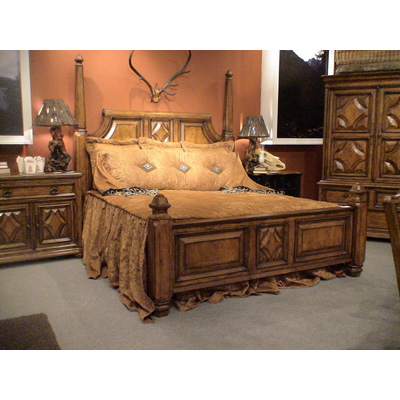 Eastern Legends 55011 Aspen Road California King Poster Bed Discount Furniture At Hickory Park