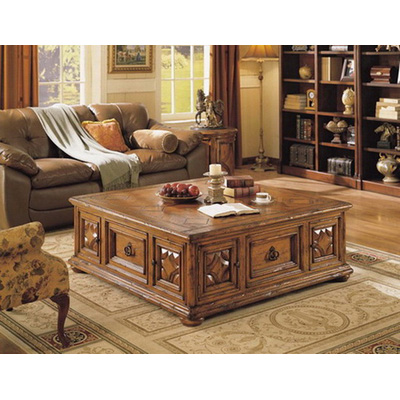 Eastern Legends Square Coffee Table