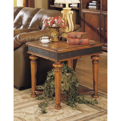 Eastern Legends Square End Table