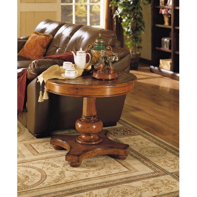 Eastern Legends Round End Table
