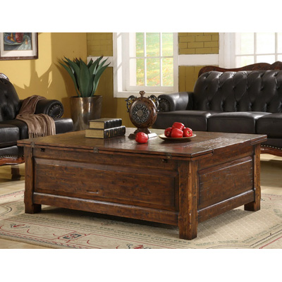 Eastern Legends Rectangle Coffee Table