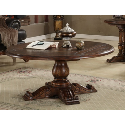 Eastern Legends 54 inch Round Coffee Table