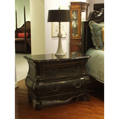 Eastern legends 126110mc liege in black king bed discount furniture at hickory park furniture for Eastern legends bedroom furniture