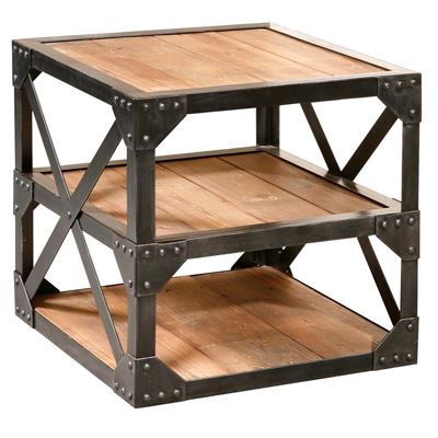 Furniture Classics Limited Bleecker Recycled Side Table