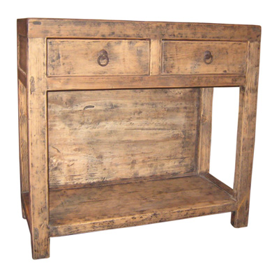 Furniture Classics Limited Old Pine Open Console