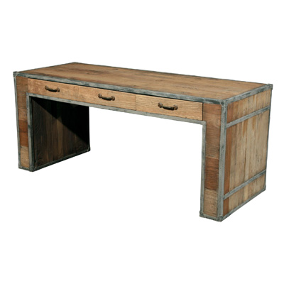 Furniture Classics Limited Iron and Elm Desk