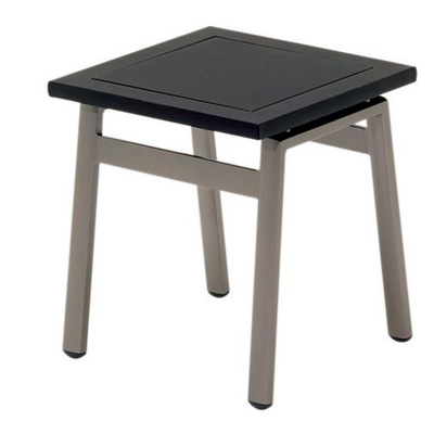 Gloster Side Table Slate Glass Top