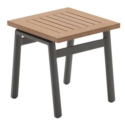 Gloster Side Table Synthetic Wood Top
