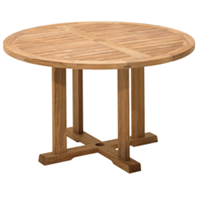 Gloster Round Gateleg Table Bristol Sale OUTDOORANDPATIO Hickory