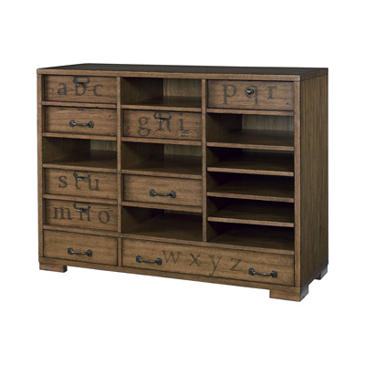 Hammary Printers Cabinet