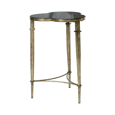 Hammary 090 500 hidden treasures clover accent table for Affordable furniture and treasures