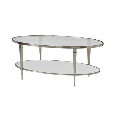 Hammary Oval Cocktail Table