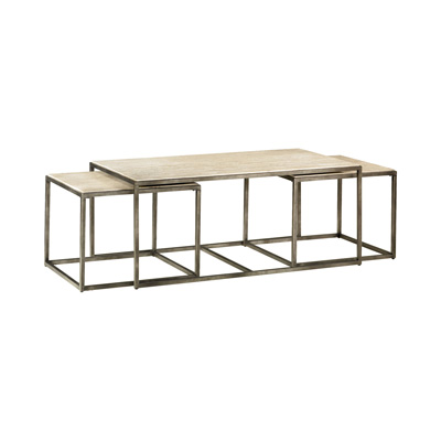 Hammary Rectangular Nesting Cocktail Table