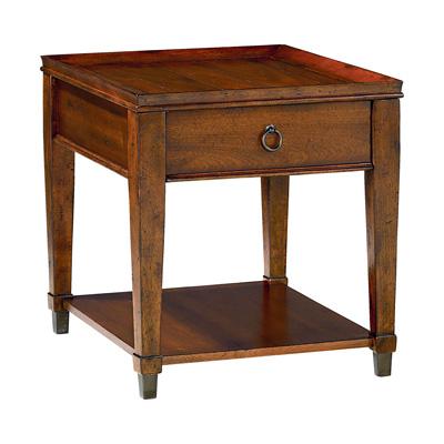 Hammary Rectangular Drawer End Table