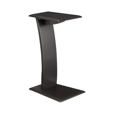 Hammary Chairside Table black