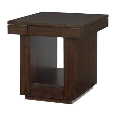 Hammary Two Drawer End Table