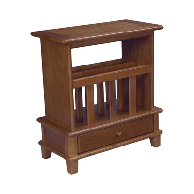 Hammary Chairside Table gold Oak