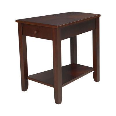 Hammary Chairside Table burnished Cherry