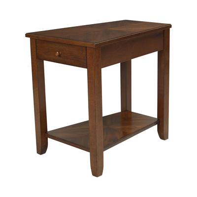 Hammary Chairside Table medium Oak