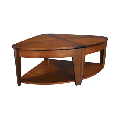 Hammary Wedge Lift top Cocktail Table