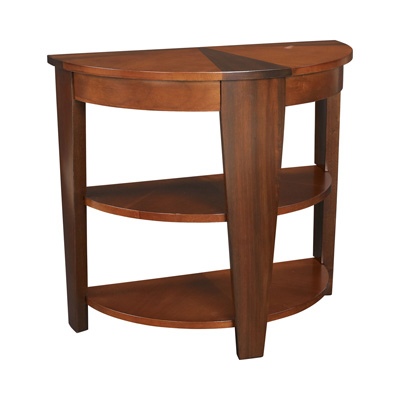 Hammary Demilune End Table