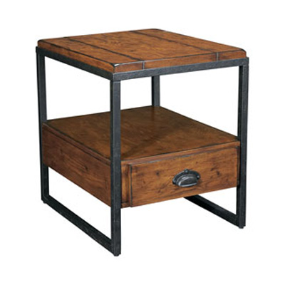 Hammary Rectangular Drawer End Table