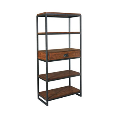 Hammary t2075282 00 baja etagere discount furniture at for Baja furniture
