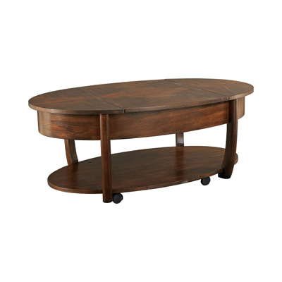 Hammary Oval Lift top Cocktail Table