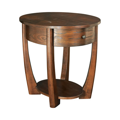 Hammary Oval End Table