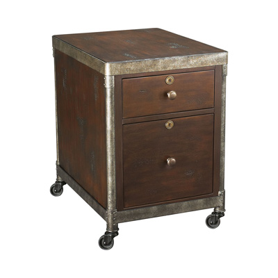Hammary Rolling File Cabinet