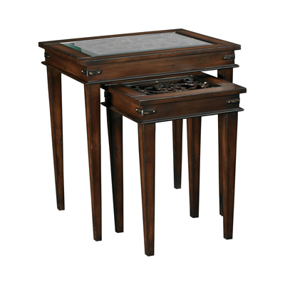Hammary t71539 00 hidden treasures nesting table discount for Affordable furniture and treasures