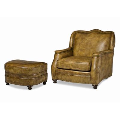 Chair and ottoman utah hancock and moore for Affordable furniture utah