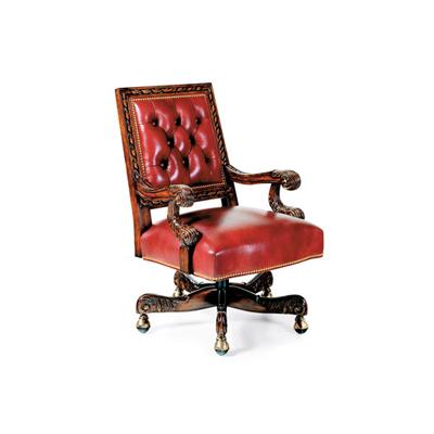 Hancock and Moore Tufted Swivel-Tilt Chair