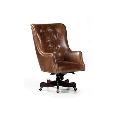 Hancock and Moore Saratoga Swivel Tilt Chair