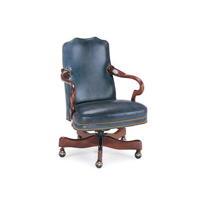 Hancock and Moore Gooseneck Swivel-Tilt Chair