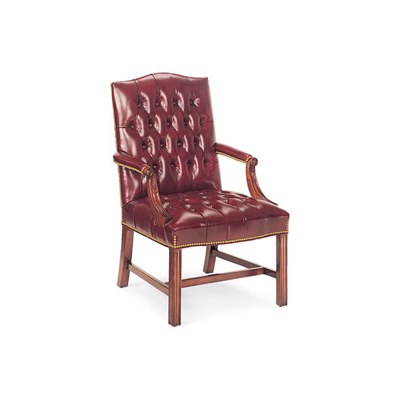 Hancock and Moore Tufted Side Chair