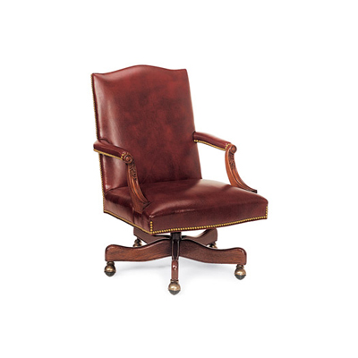 Hancock and Moore Swivel-Tilt Chair