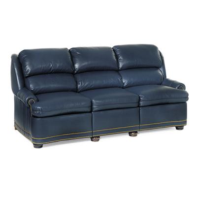 Black full leather modern sofaoptional items furniture for Cheap modern furniture austin