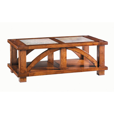 Harden Greeley Cocktail Table Cabinetmakers Cherry Sale