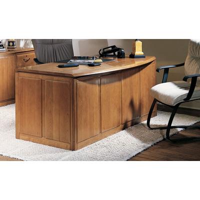 Harden Double Pedestal Bow Front Desk