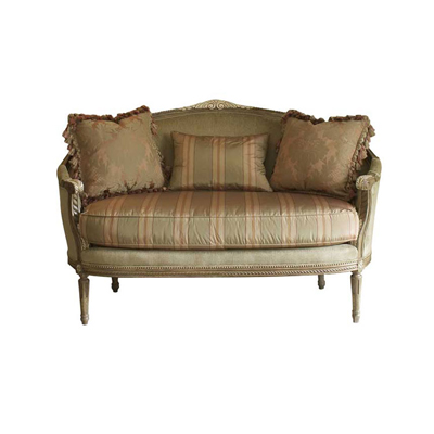 Harden 3507 061 upholstery settee discount furniture at for Affordable furniture upholstery